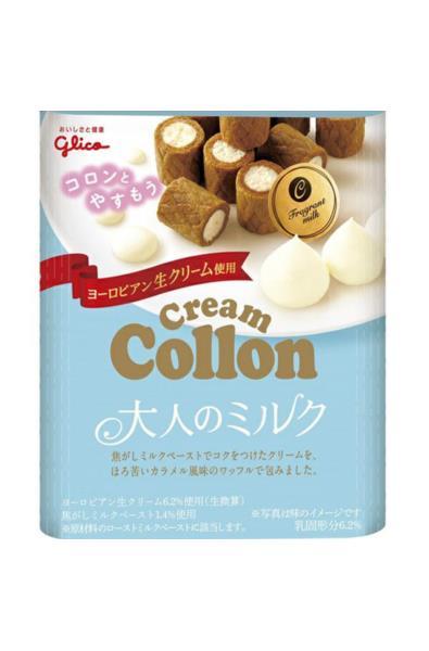 Glico Cream Collon o smaku mlecznym