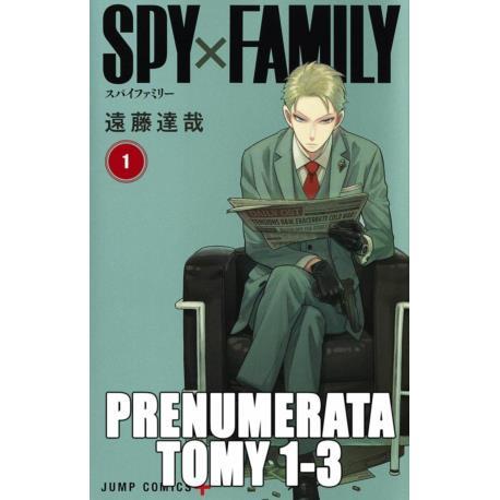 Prenumerata SPYxFAMILY tomy 1-3