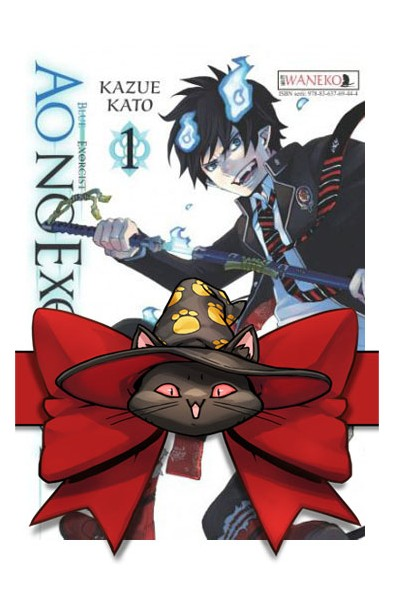 Ao no Exorcist 1-10 (pakiet)