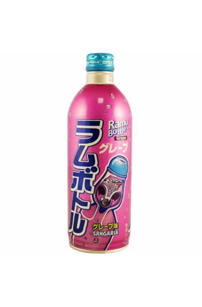 Sangaria Grape Ramune Soda