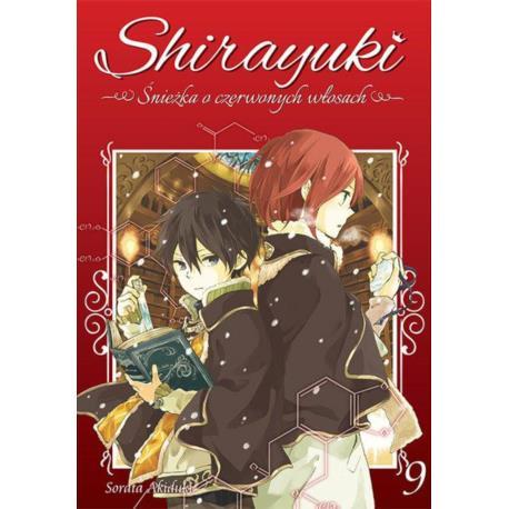 Shirayuki. Śnieżka o czerwonych włosach 09