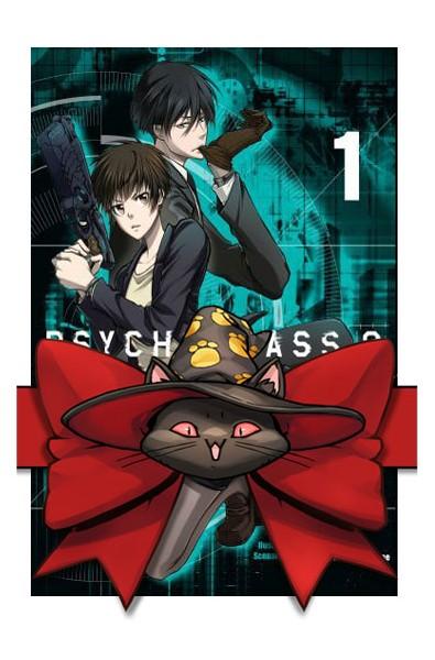 Psycho-pass 2 1-5 (pakiet)