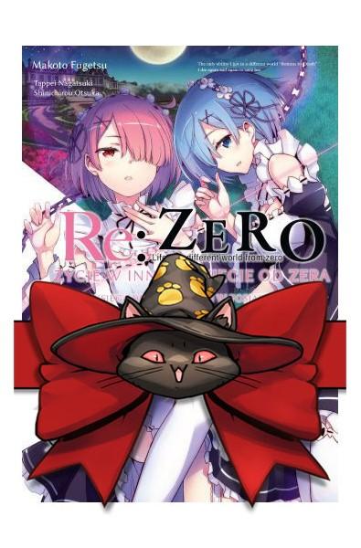 Re: Zero Życie w innym świecie od zera. Księga 2 - Tydzień w posiadłości 1-5 (pakiet)