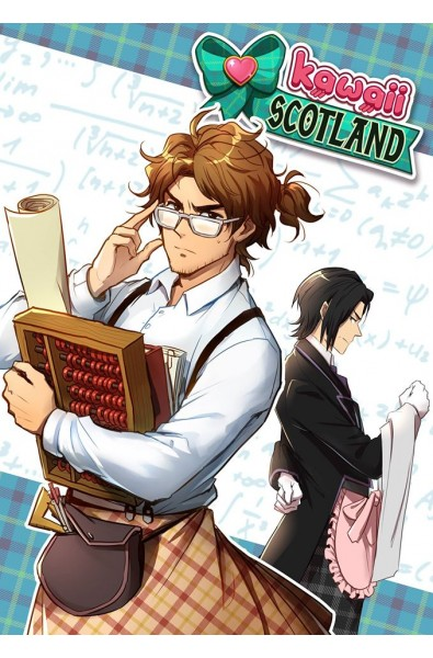 Kawaii Scotland Light Novel 01 + pocztówka i brelok