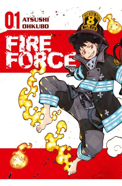 Fire Force 01 + karta