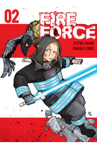 Fire Force 02 + karta