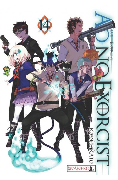Ao No Exorcist 14