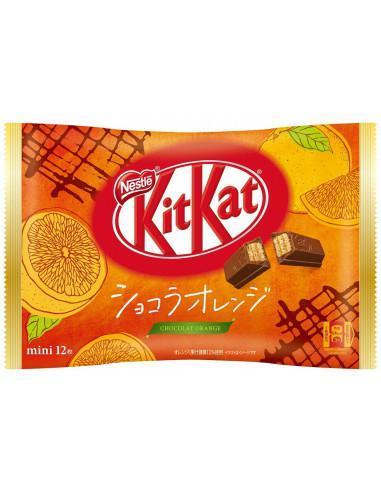 KitKat Mini Czekolada i Pomarańcza (paczka)