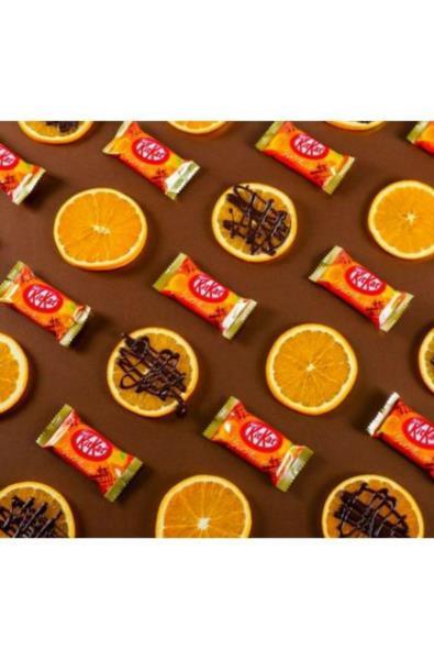 KitKat Mini czekolada i pomarańcza