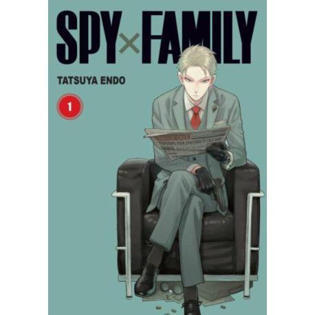 Spy x Family 01 + pocztówka
