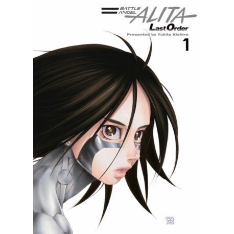 Battle Angel Alita Last Order 01