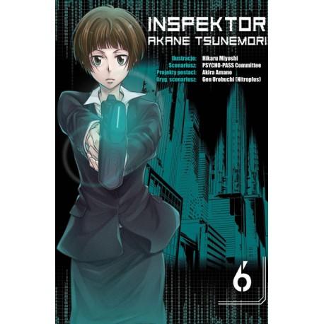 Inspektor Akane Tsunemori tom 06