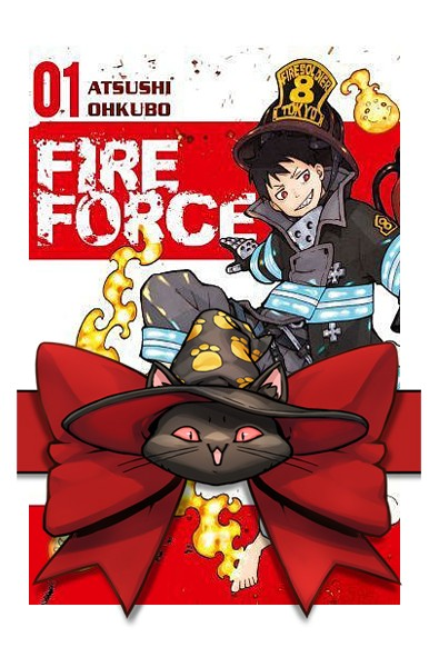 Fire force 1-5 (pakiet) + karty postaci