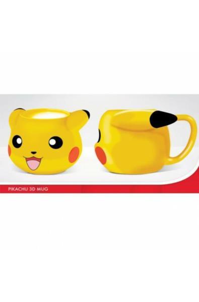 Pokemon - kubek 3D pikachu