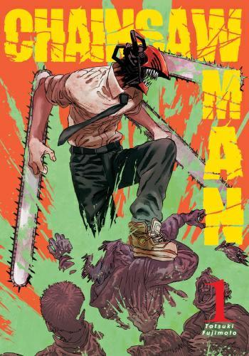 Chainsaw man 01 + plakat