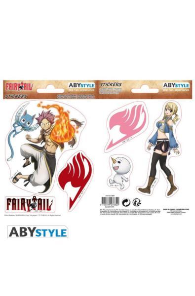 Fairy Tail - naklejki Natsu & Lucy