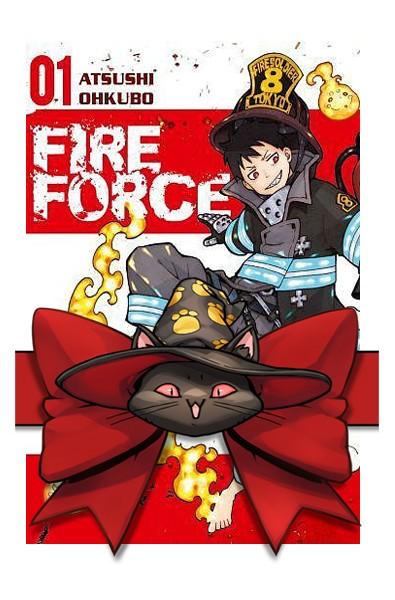 Fire force 1-8 (pakiet) + karty postaci