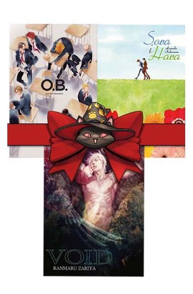 Jednotomówki Waneko pakiet 18+ (OB, Void, Sora i Hara)