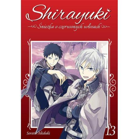 Shirayuki. Śnieżka o czerwonych włosach 13