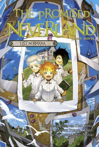 The Promised Neverland LN List Normana + pocztówka
