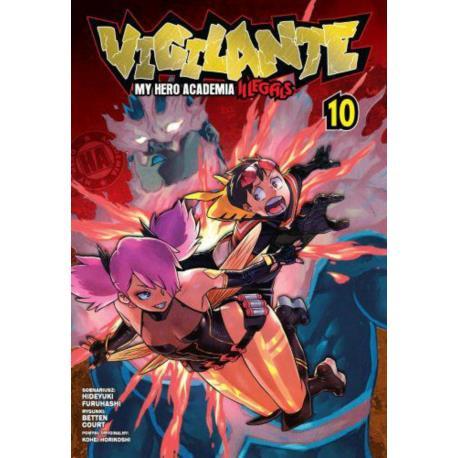 Vigilante. My Hero Academia - Illegals 10