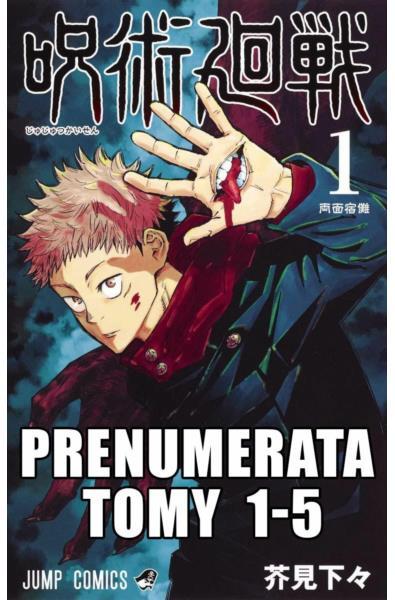 Prenumerata Jujutsu Kaisen tomy 1-5