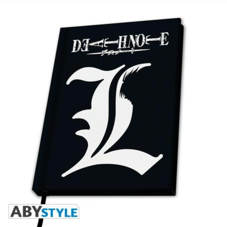 """Death Note - notes A5 """"L"""""""
