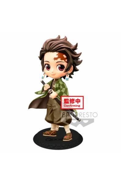 Demon Slayer - Figurka Q Posket Tanjiro Kamado z płaszczem Tanjiro Kamado z płaszczem