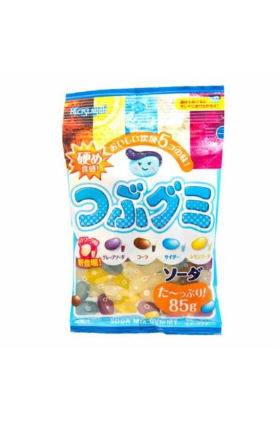 Kasugai Tsubu Gummy Mixed Soda Jelly Beans