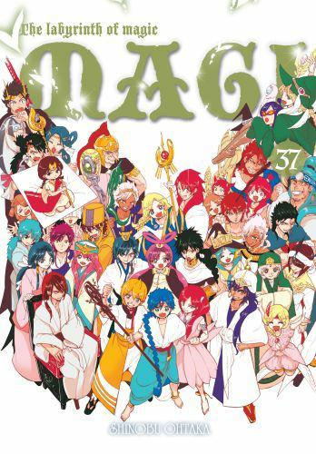 Magi: Labirynth of Magic 37