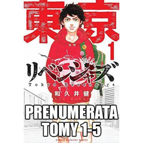 Prenumerata Tokyo Revengers 1-5