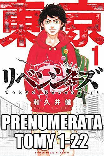 Prenumerata Tokyo Revengers 1-22