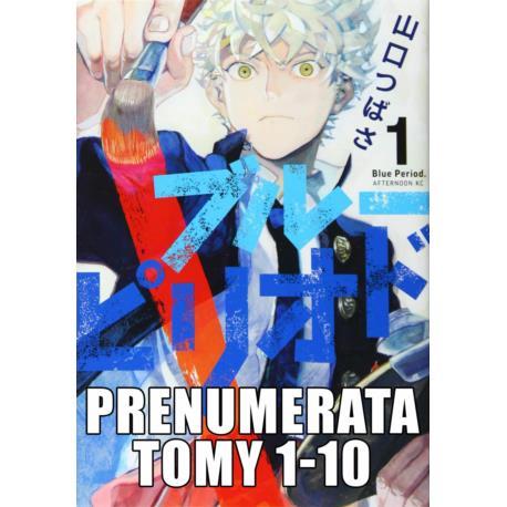 Prenumerata Blue Period 1-10