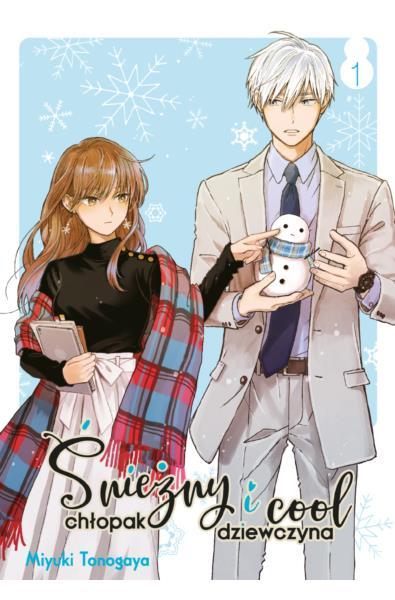 Śnieżny chłopak i cool dziewczyna 01